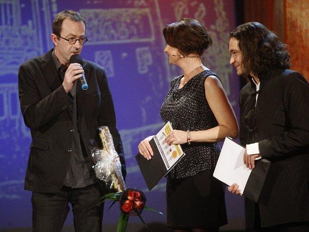 Petr Zelenka se za ceny pro Dabing street v Pardubicích omlouval