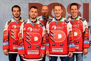 Nové tváře hokejového Dynama