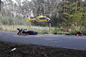 Nehoda u Býště.