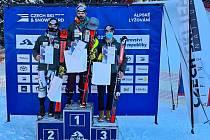 Pardubický lyžař David Kubeš vyhrál závod v obřím slalomu na mistrovství České republiky juniorů, které se konalo v Bílé v Beskydech.