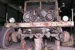 První práce na Tatře. Prakticky do poslední součástky se musela rozebrat.
