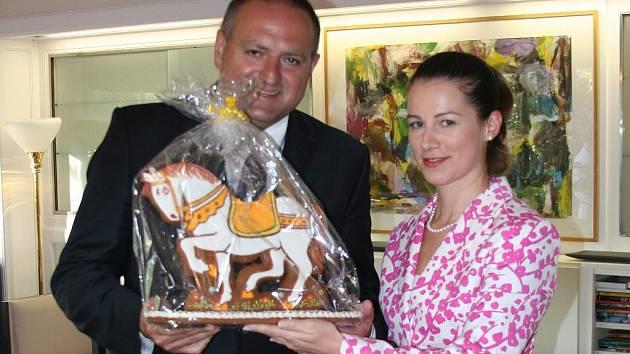 Vladimír Müller a Karolína Brennerová