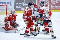 Hokejová extraliga - 18. kolo: Pardubice - Olomouc 1:2 po prodloužení