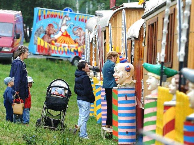 Cirkus Berousek v Pardubicích
