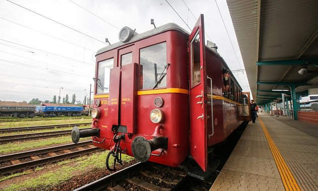 Historický vlak.