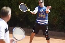 Tenisového turnaje se zúčastnil i Martin Dejdar