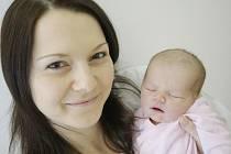 NATÁLIE ŠINDELÁŘOVÁ se narodila 6. prosince v 18:30 hodin. Měřila 48 centimetrů a vážila 3100 gramů. Maminku Vendulu u porodu podpořil tatínek Jan a rodina je z Pardubic.
