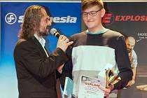 Titul nejlepšího mladého chemika získal Vít Pavlík.