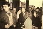 VÁCLAV HAVEL přijel do Pardubic v lednu 1990, kdy promluvil z balkonu Východočeského divadla k zaplněnému náměstí. To byl již prezidentem.