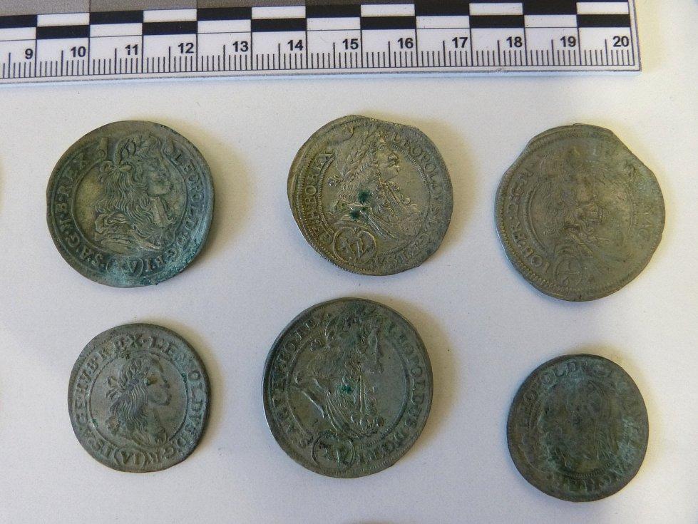 Nalezené mince