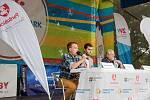 O sametové revoluci a dnešním stavu demokracie diskutovali Daniel Kroupa aMikuláš Minář.