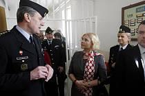 Pardubickou věznici navštívila ministryně spravedlnosti Daniela Kolářová.