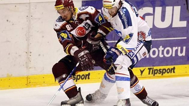 Pardubičtí hokejisté porazili Spartu 3:1