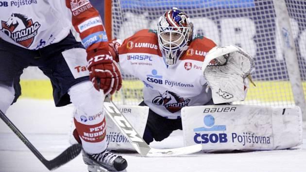 Baráž o hokejovou extraligu Pardubice - Č. Budějovice