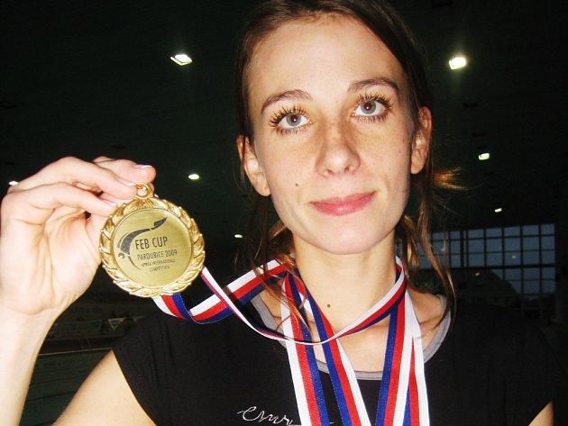 Alena Zabloudilová vybojovala dvě zlaté medaile