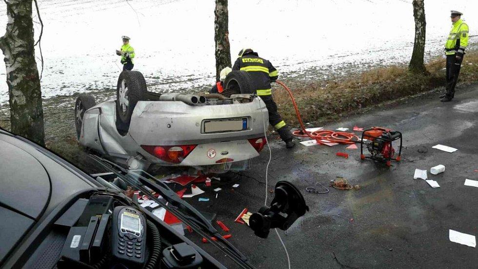 Nehoda u Býště bohužel skončila tragicky.