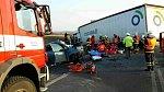 Tragická nehoda na obchvatu Holic