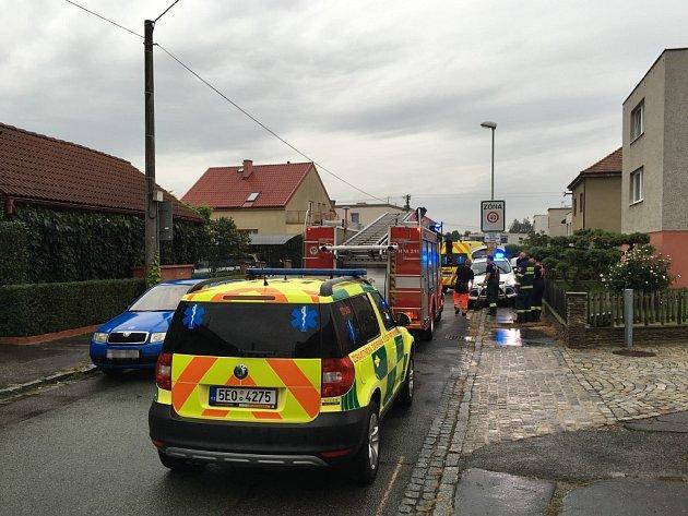 Záchrnáři na místě ženu resuscitovali 40 minut.