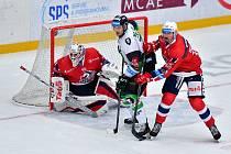 Tipsport extraliga: BK Mladá Boleslav - HC Dynamo Pardubice.