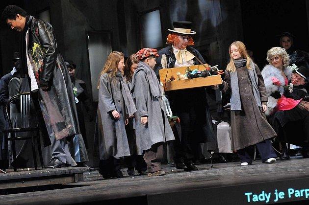 Operní představení La Bohéme