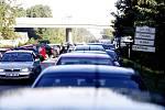 Stav parkoviště na silnici I/37 kolem 10:00