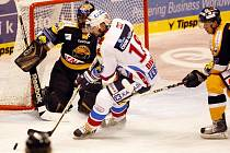 Pardubičtí hokejisté tentokrát roznesli Litvínov doslova na kopytech