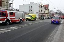 Záchranáři v Pernštýnské ulici už nemohli muži pomoci.