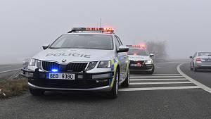 Policejní hlídky kontrolovaly řidiče mezi okresy Chrudim a Pardubice