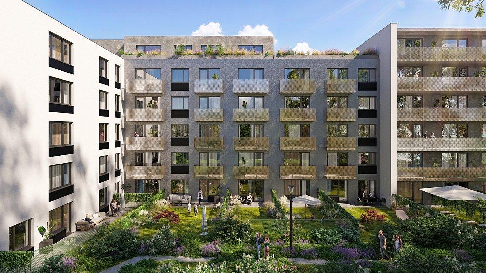 Areál bývalé Tesly se změní na moderní čtvrť. Město prostor předalo novému majiteli. Zdroj: Linkcity