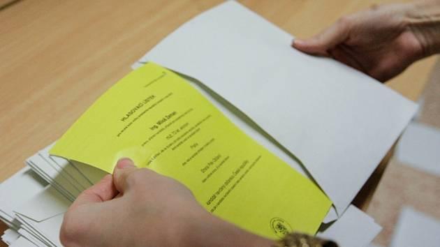 Sčítání hlasů po druhém kole prezidentských voleb
