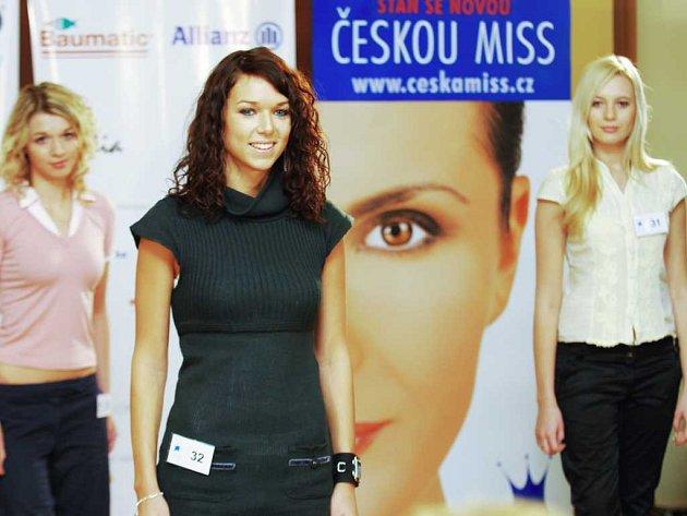 Casting České miss v Pardubicích