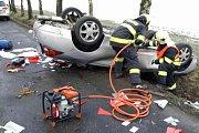 Nehoda u Býště měla bohužel tragické následky.