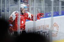 Hokejový útočník Robert Říčka z Pardubic vládne extraligovým střelcům.