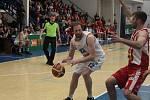 Sport basketbal NBL nadstavba Děčín - Pardubice