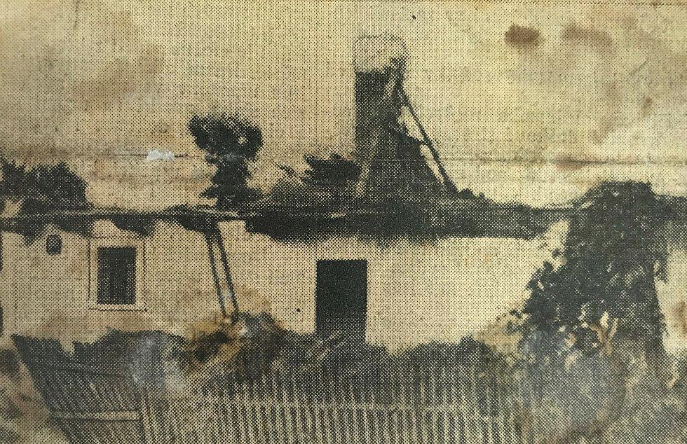Fotografie z kroniky obce Dolany.