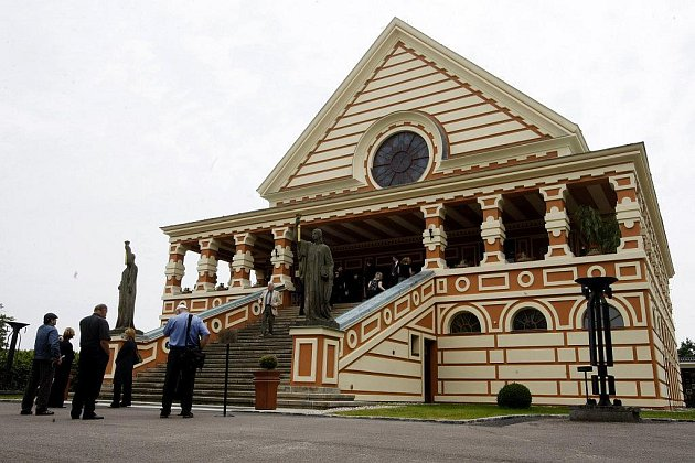 Pardubické krematorium - ilustrační foto