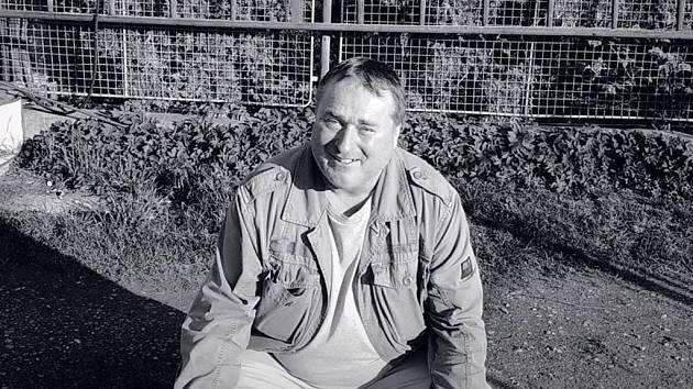Pohřešovaný Viktor Hašpica.