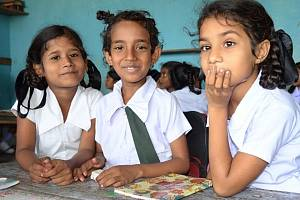 Škola na Šrí Lance