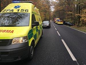 Nehoda u Bohdanče skončila zraněním matky s dítětem.