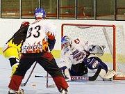 Přípravný zápas v in-line hokeji