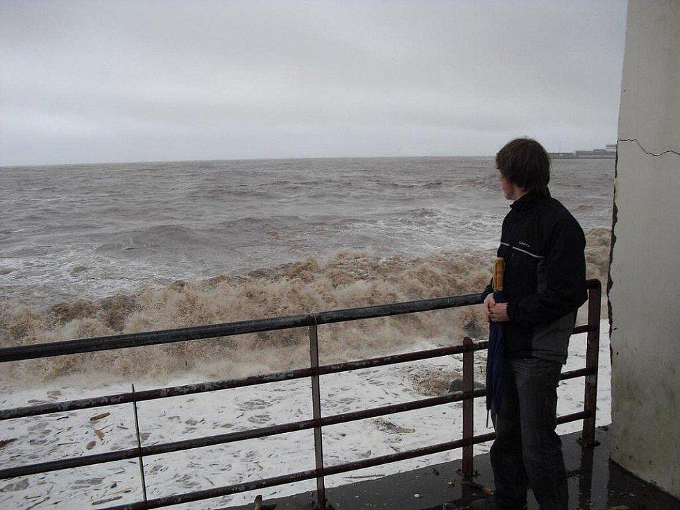 Následky záplav na Madeiře pohledem pardubických studentů
