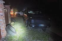 Neplánované přezutí nevyšlo, zloděje vyrušil taxikář