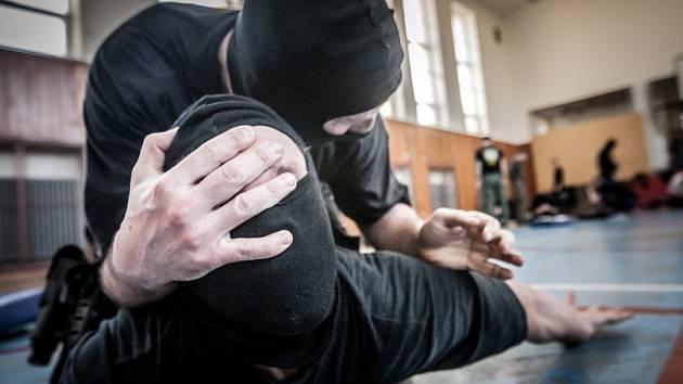 Krajskou pořádkovou jednotku policie Pardubického kraje si vzali do parády trenéři bojového umění Krav Maga.