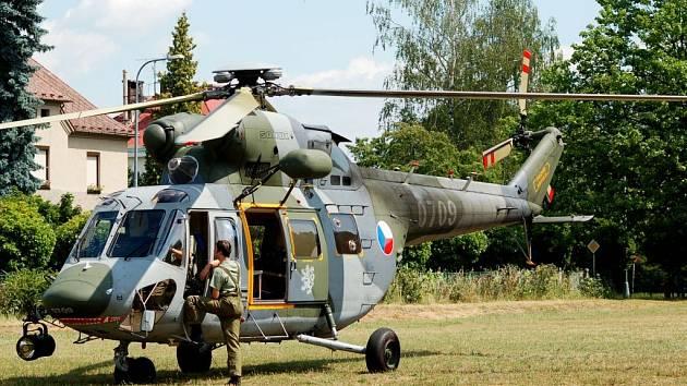 Vrtulník W3A Sokol českého letectva