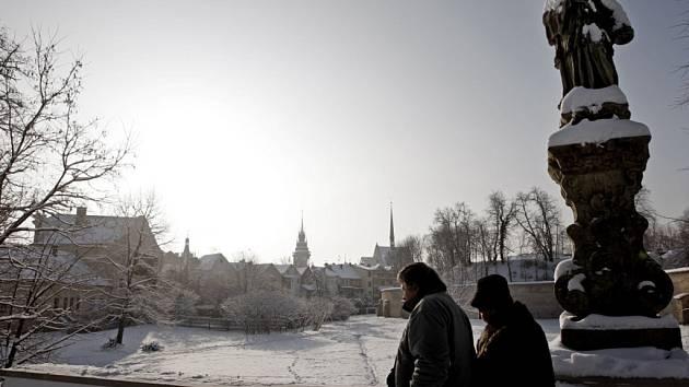 Zimní Pardubice