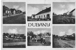 Z PŘEDVÁLEČNÝCH LET se zachovala tato pohlednice obce.