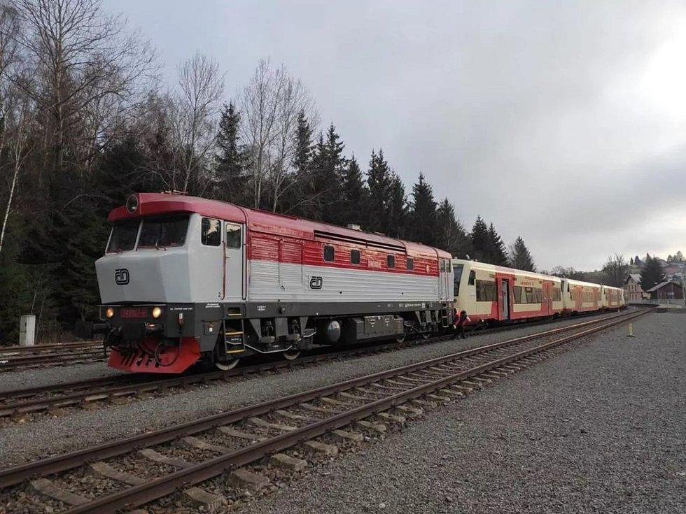 České dráhy koupily motorové vozy za zhruba 700 tisíc eur za kus od švýcarské společnosti, vozy jezdily u německého dopravce.
