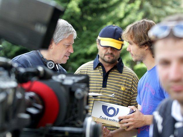 První natáčecí den filmu Obchodníci