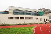 Zateplení budovy Sportovního gymnázia Pardubice