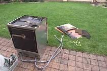 K požáru v kuchyni vyjížděli v neděli 22. srpna do Nových Jesenčan profesionální hasiči z Pardubic.